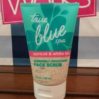 Bath & Body Works True Blue Spa APRICOT & WHITE TEA Face Scrub 4 oz