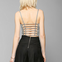 Tela Cage-Back Cami - Urban Outfitters