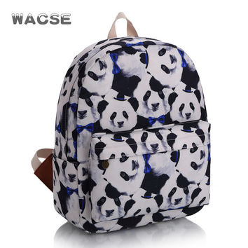 Stylish Cats Korean Casual Fashion Backpack = 4887507652