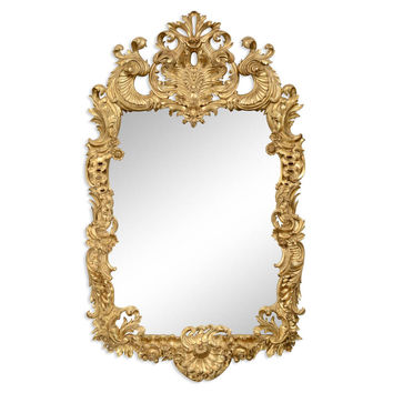 Gibbons Rococo Gold Mirror