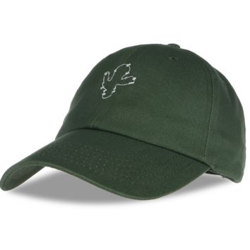 Unisex Army Green Cactus Embroidery Outdoor Baseball Cap Hats