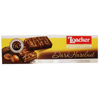 Loacker Gran Pasticceria Dark Hazelnut Biscuits 3.5 oz. (100 g)