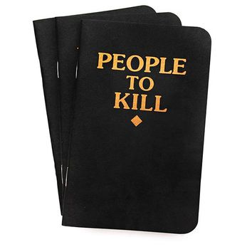 People To Kill Memo Books (Pack of 3)