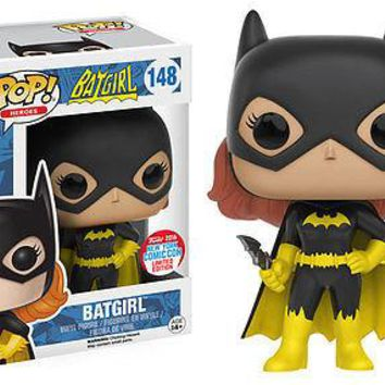 Funko Pop Heroes: Batgirl - 2016 NYCC Exclusive Vinyl Figure