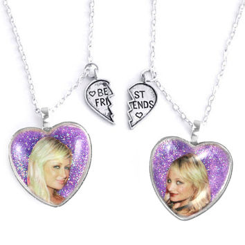 PARIS & NICOLE FRIENDSHIP NECKLACES
