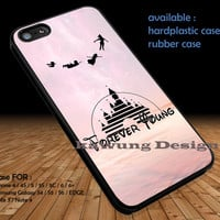Disney Forever Young Peter Pan DOP124 iPhone 6s 6 6s+ 5c 5s Cases Samsung Galaxy s5 s6 Edge+ NOTE 5 4 3 #cartoon #disney #animated #disneycastle