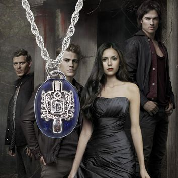 Movie Jewelry The Vampire Diaries Damon Necklace For Women Choker Necklace