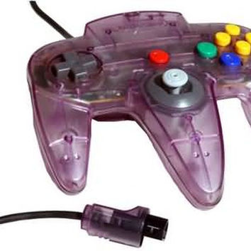 Official Nintendo 64 OEM Controller Atomic Purple N64 NUS-005