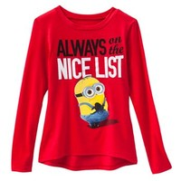 "Despicable Me ""Always On The Nice List"" Tee - Girls 7-16"