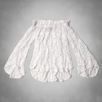 Off The Shoulder Peasant Blouse From Abercrombie Fitch Things
