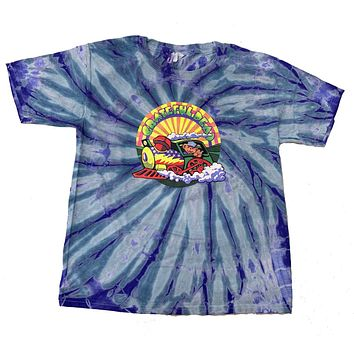 Grateful Dead Kids T-Shirt GD Train Tie Dye Tee