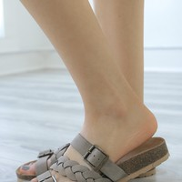 Cyleigh Sandals - Taupe