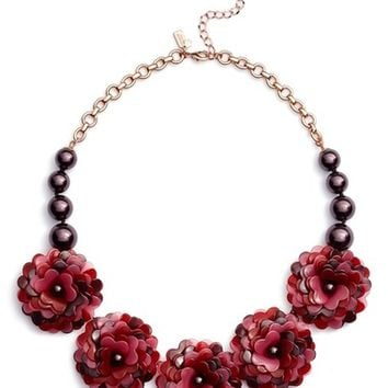 kate spade new york rosy outlook statement necklace | Nordstrom