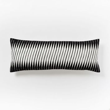 Linear Wave Pillow Cover