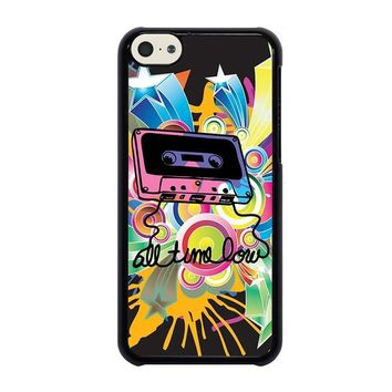 all time low retro cassete iphone 5c case cover  number 1
