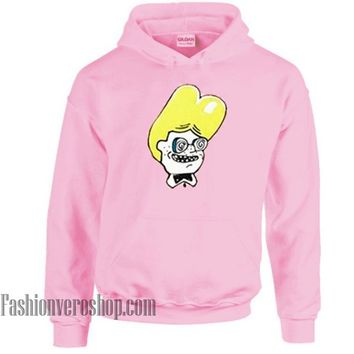 Nerd Boy Cartoon HOODIE - Unisex Adult Clothing