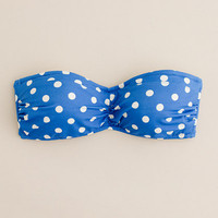 Hot dot bandeau top - swim - Women's online shops - J.Crew