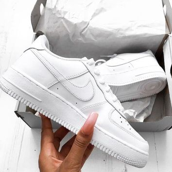 NIKE AIR FORCE 1 Tide brand men and women fashionable and comfortable sports shoes F