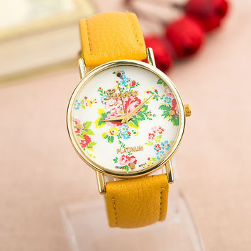 Hot Vintage Fashion Quartz Classic Watch Round Ladies Women Men Wristwatch Michael Kor Like On Sales = 4785767620