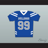 Newt Van Der Rohe 99 Bulldogs School Football Jersey