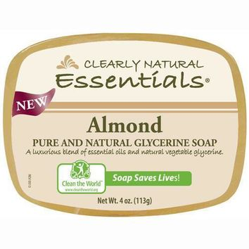 Clearly Natural Glycerin Bar Soap - Almond - 4 oz