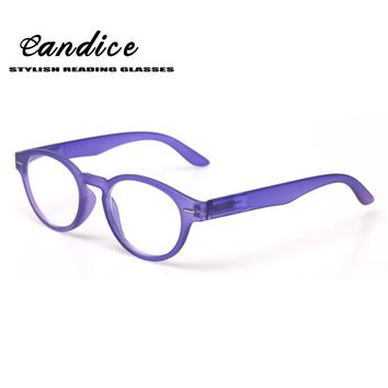 Reading Glasses Spring Hinge Vintage Style Great Value Quality Readers Multicolor Round Frame Men and Women Readers for Reading