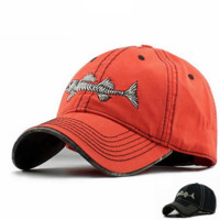 Fishbone Baseball hat