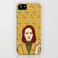 Lana Banana / American Horror Story: Asylum iPhone & iPod Case by Lauren C Skinner
