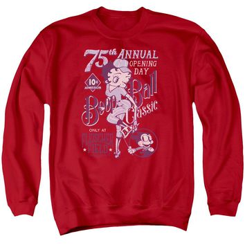 Betty Boop - Boop Ball Adult Crewneck Sweatshirt