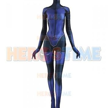 Jill Valentine Costume 3D Printing Resident Evil Girl Spandex Cosplay Superhero Costume Zentai Suit Custom Made Available
