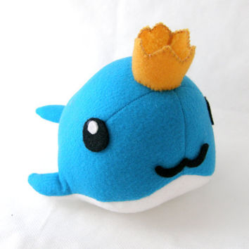 Prince of Whales felt plushie