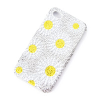 Bling Daisy iPhone 4 and 4s Cover