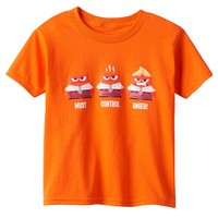 Disney / Pixar Inside Out Anger ''Must Control Anger'' Graphic Tee - Boys