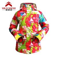 Winter Skiing and Snowboarding Women Waterproof Windproof Breathable Warm Outdoor Sports Moutain Climbing Hiking Coat Jacket