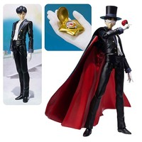 Sailor Moon Tuxedo Mask SH Figuarts Action Figure - Bandai Japan - Sailor Moon - Action Figures at Entertainment Earth