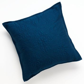 Chaps Home Casablanca Quilted Decorative Pillow (Blue)