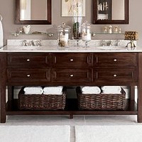 Bathroom Sinks, Bathroom Vanity & Sink Cabinets, Bath Consoles | Pottery Barn