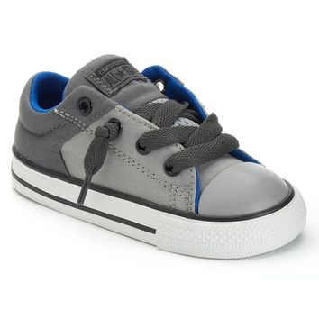 Converse Chuck Taylor All Star Slip-On Shoes for Toddler Boys (Black)