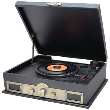 Pyle Home Classic Style Turntables With Bluetooth (black)