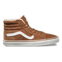 Pig Suede Fleece SK8-Hi | Shop Mens Shoes at Vans