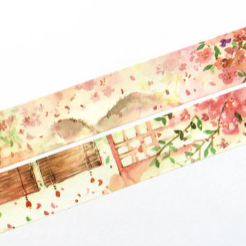 Cherry blossom washi tape (T00198)