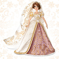 Limited Edition Tangled Ever After Rapunzel Wedding Doll -- 17'' H