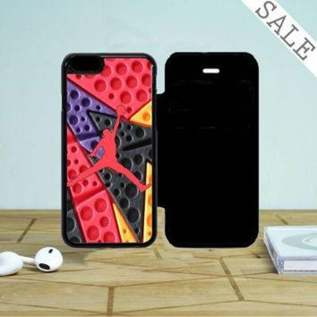 DCKL9 Jordan Retro 7 Raptors iPhone 5 Flip Case