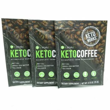 It Works! Keto Coffee™ 3 Day Sampler