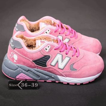 New Balance Nb580 Women Men Casual Running Sport Shoes Sneakers Pink G-A-YYMY-XY