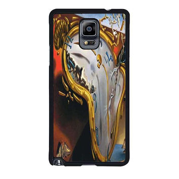 salvador dali soft watch melting clock samsung galaxy note 4 note 3 cover cases