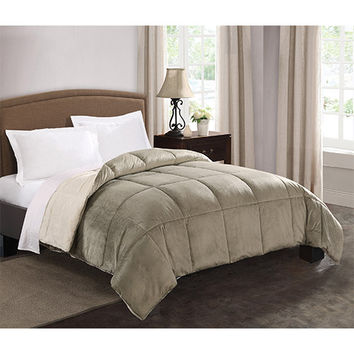 Pem America CF8665SGKG-1600 Micro Mink Sage Reversible King Comforter - (In No Image Available)