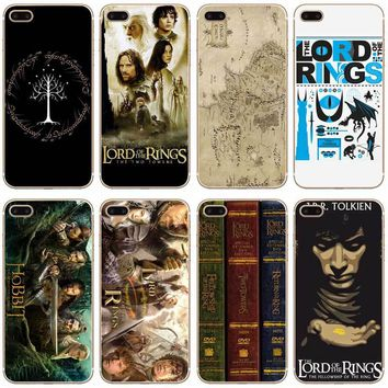 H303 The Lord Of Rings The Hobbit Transparent Hard Thin Case Cover For Apple iPhone XR XS Max 4 4S 5 5S SE 5C 6 6S 7 8 X Plus