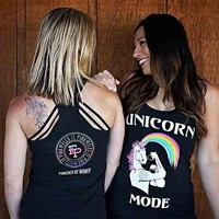 Unicorn Mode Women's Tank