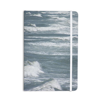 "Suzanne Carter ""Crest"" Blue Gray Everything Notebook"
